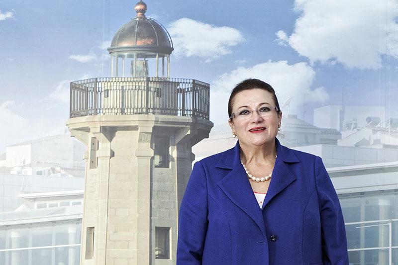 Dolores Guillamón Representante Cámara Comercio, Industria y Navegación