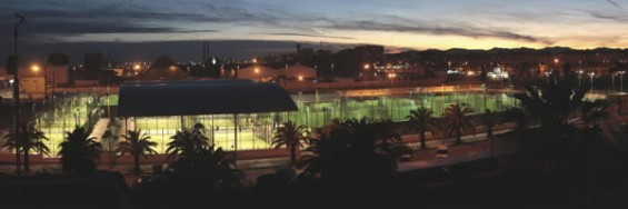 instalación de un Centro deportivo en el puerto