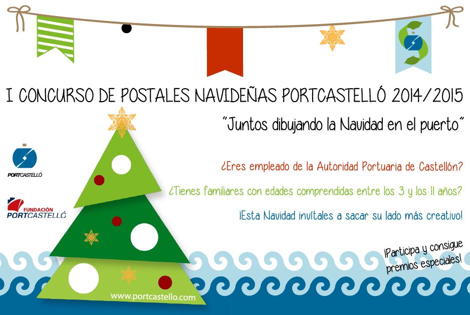 cartel I concurso postales navideñas 2014-2015