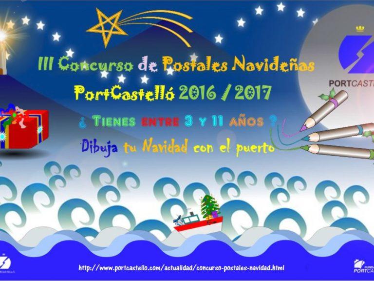 cartel III concurso de postales navideñas