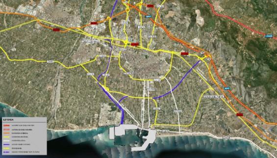 Acceso ferroviario Norte - PortCastellóAcceso ferroviario Sur - PortCastelló