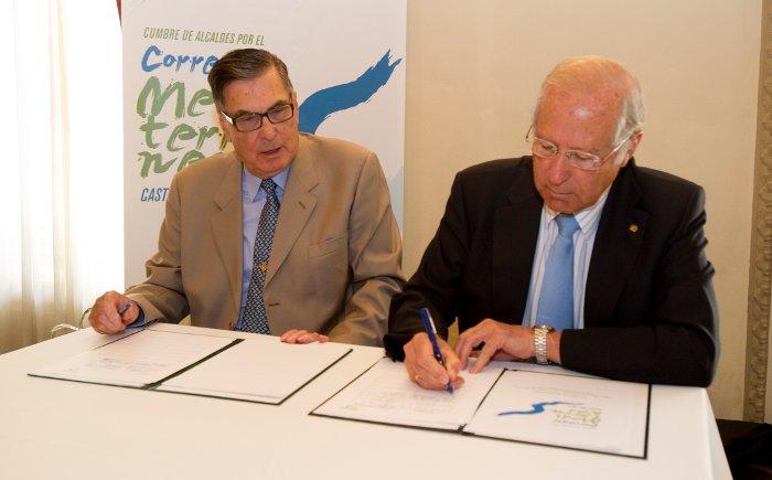 2-09-2011 cumbre corredor Mediterraneo