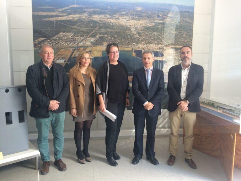 Reunión de PortCastelló con responsables del SERVEF
