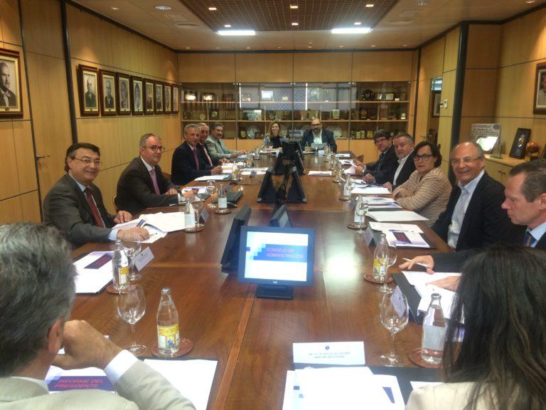 Reunión del Consejo de Administración de PortCastelló