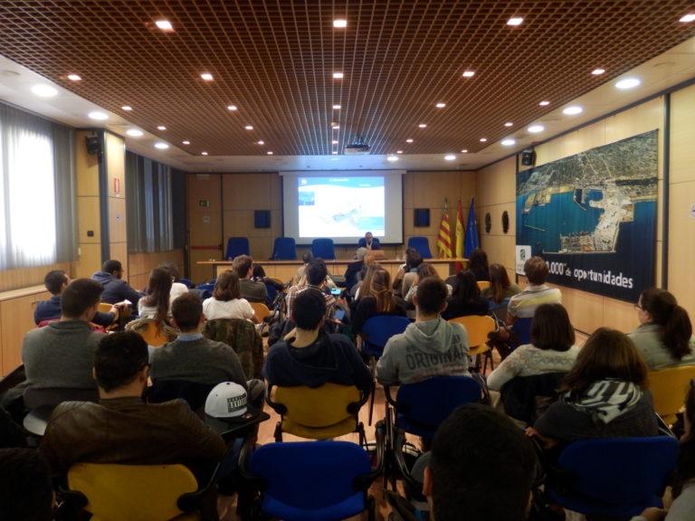 Alumnos de la Universidad Politécnica de Valencia visitan PortCastelló