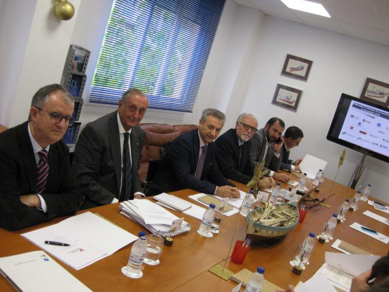 Reunión de la Fundación PortCastelló