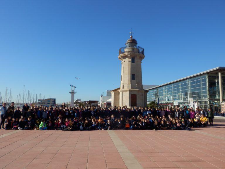 """El puerto de Castellón ha acogido la campaña de """"Cine en valores"""""""