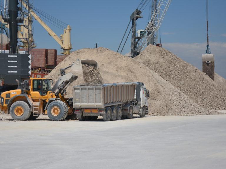 Granel sólido puerto de Castellón