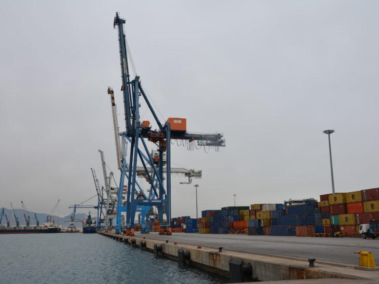Tráfico mercancías puerto de Castellón