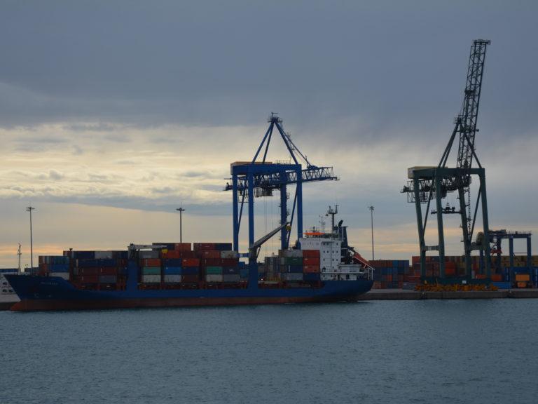 PortCastelló tráfico mercancías