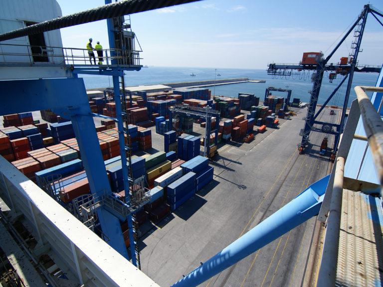 El puerto de Castellón sigue cosechando récords en tráfico de mercancías