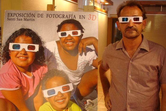 exposición fotografías 3D