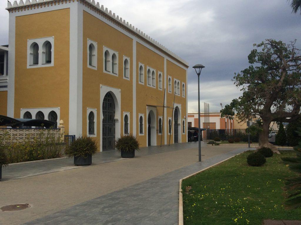 Edificio principal de la Autoridad Portuaria de Castellón