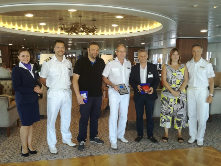 Metopa crucero Saga Sapphire en Castellón
