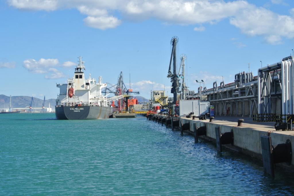 Graneles líquidos puerto de Castellón