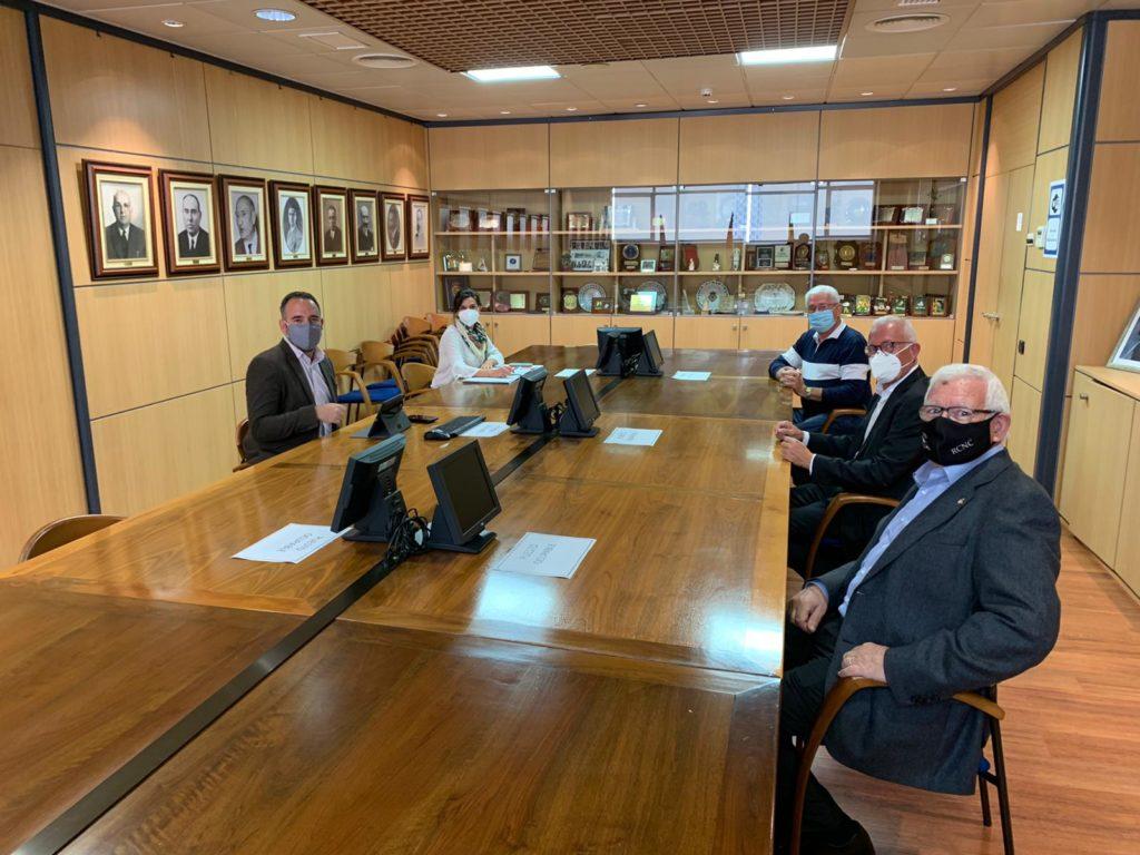 Reunión Club Náutico de Castellón