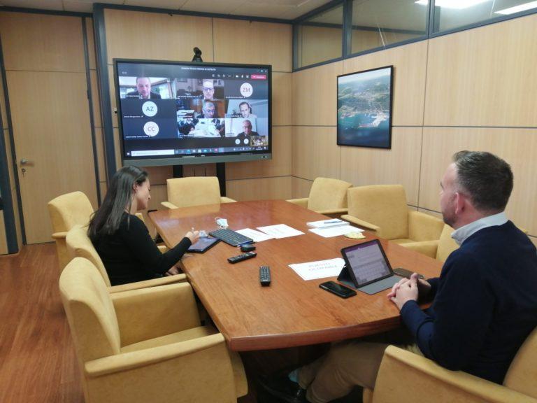 Reunión estación intermodal